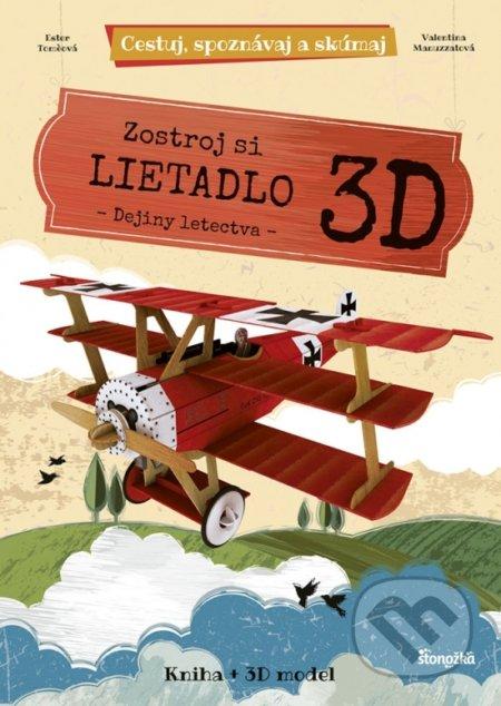 Zostroj si 3D lietadlo - dejiny letectva - Kolektív