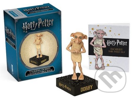 Harry Potter Talking Dobby and Collectible Book - Running