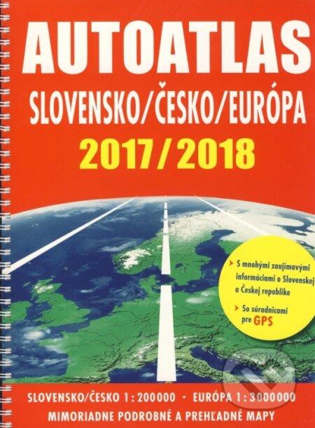 Newdawn.it Autoatlas Slovensko/Česko/Európa 2017/2018 Image