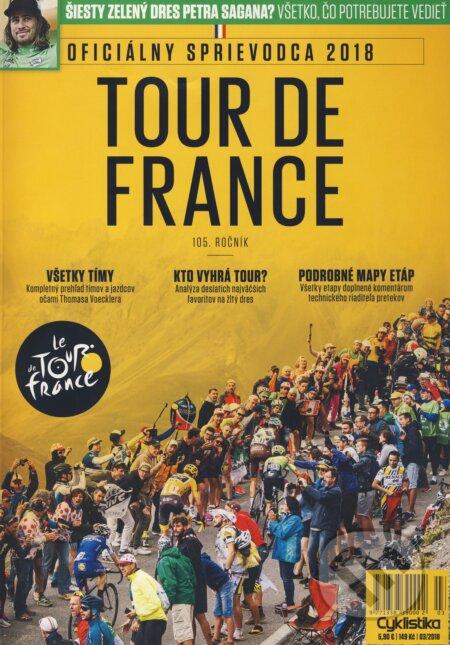 0398e78454a10 Tour de France 2018 (Oficiálny sprievodca) (Sportmedia)   Martinus