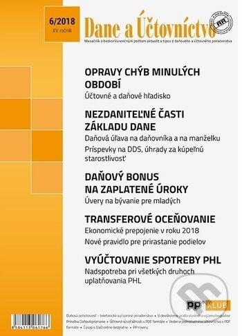 Peticenemocnicesusice.cz Dane a účtovníctvo 6/2018 Image