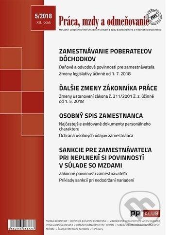 Fatimma.cz Práca, mzdy a odmeňovanie 5/2018 Image