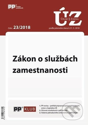 Peticenemocnicesusice.cz Úplné znenia zákonov 23/2018 Image