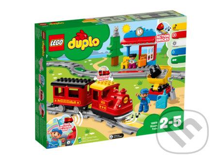 LEGO DUPLO Town 10874 Parný vlak - LEGO