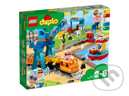 LEGO DUPLO Town 10875 Nákladný vlak - LEGO
