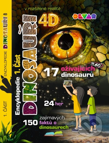 Bthestar.it 4D Encyklopedie Dinosauři Image