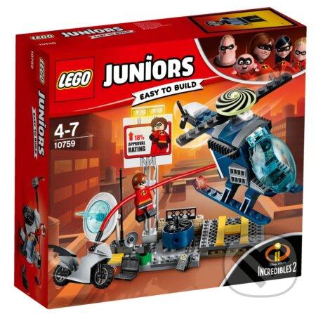 LEGO Juniors 10759 Elastižena a naháňačka na streche - LEGO