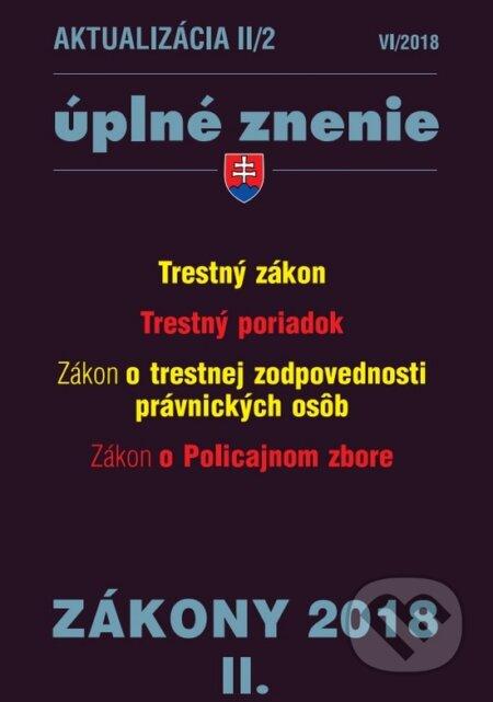 Fatimma.cz Aktualizácia II/2 2018 - úplné znenie po novele Image