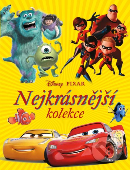 Disney Pixar: Nejkrásnější kolekce - Egmont ČR