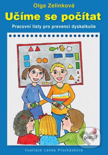 Učíme se počítat - Olga Zelinková, Lenka Procházková (ilustrácie)