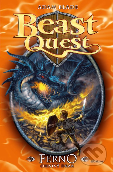 Beast Quest: Ferno, ohnivý drak - Adam Blade