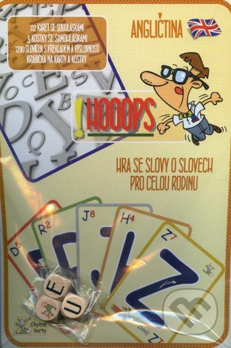 Chytré karty: Angličtina - !HOOOPS - Chytrá Lola