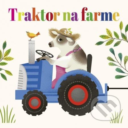 Traktor na farme -