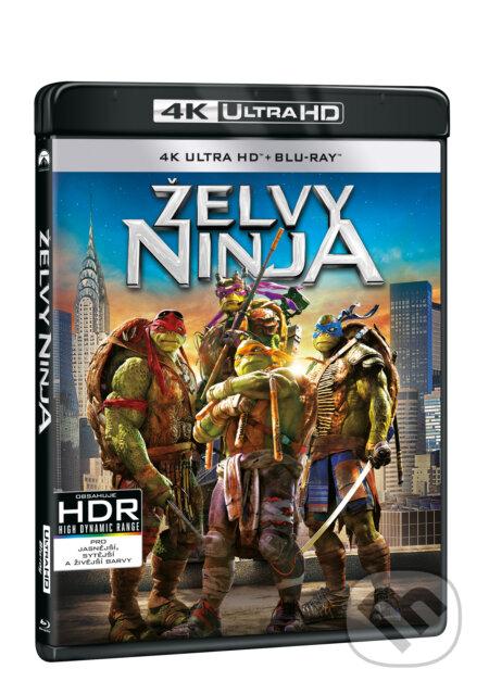 Želvy Ninja Ultra HD Blu-ray UltraHDBlu-ray