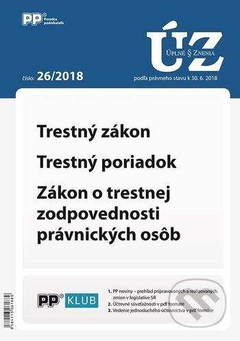 Fatimma.cz Úplné znenia zákonov 26/2018 Image