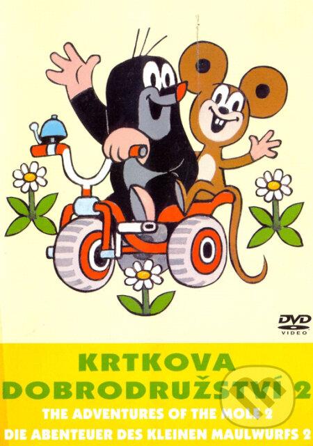 Krtkova dobrodružství 2 DVD