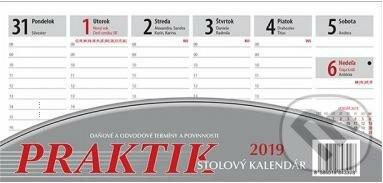 532f35e02 Praktik 2019. stolový stĺpcový pracovný kalendár