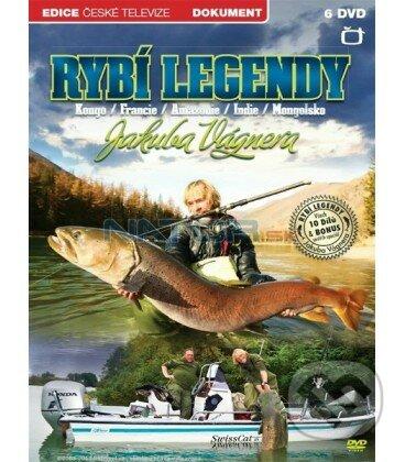 Rybí legendy Jakuba Vágnera DVD