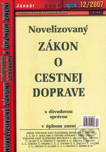 Peticenemocnicesusice.cz Novelizovaný Zákon o cestnej doprave Image