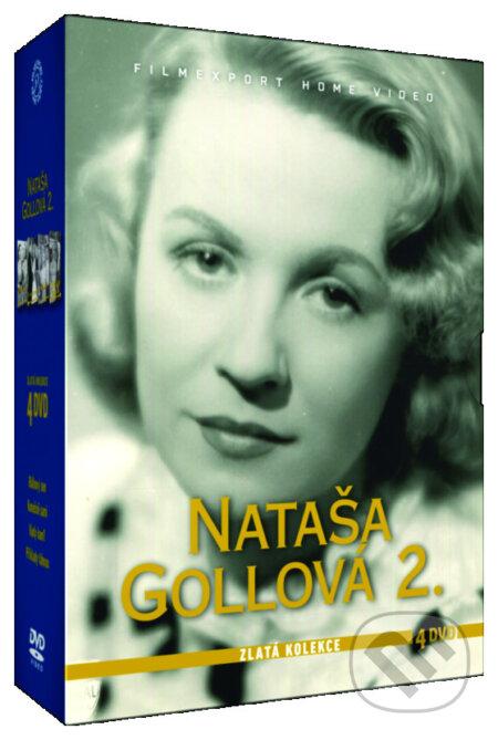 Nataša Gollová 2 - Zlatá kolekce DVD