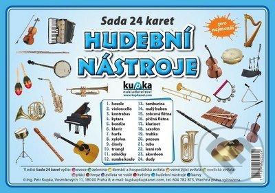 Sada 24 karet - hudební nástroje - Petr Kupka