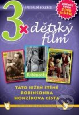 3x Dětský film DVD