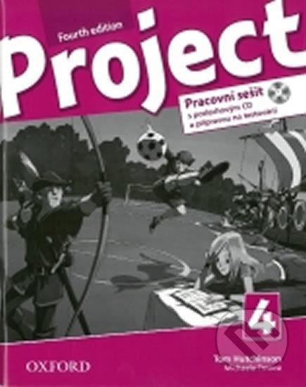 Project Fourth Edition 4 - Pracovní sešit s poslechovým CD a Project Online Practice - Oxford Univer