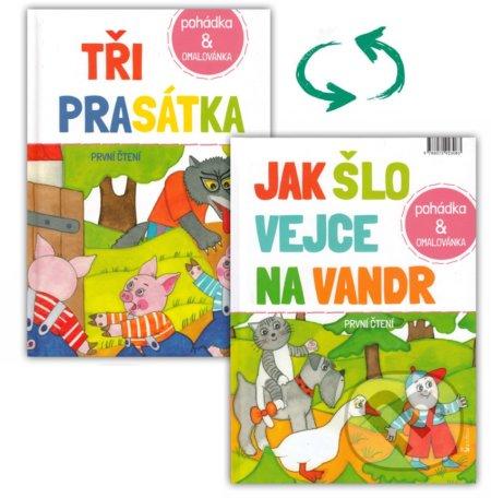 Interdrought2020.com Tři prasátka /Jak šlo vejce na vandr Image