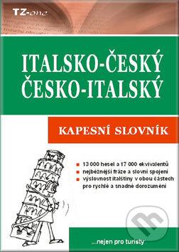 Italsko-český a česko-italský kapesní slovník - Věra Zahradníčková