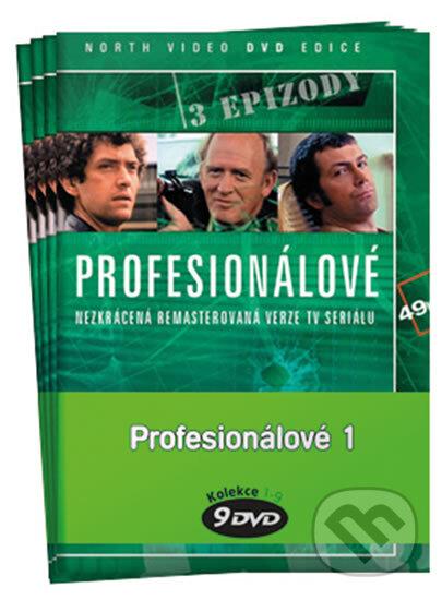 Profesionálové Pack 1: 1 - 9 DVD DVD