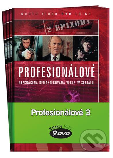 Profesionálové Pack 3: 19 - 27 DVD DVD