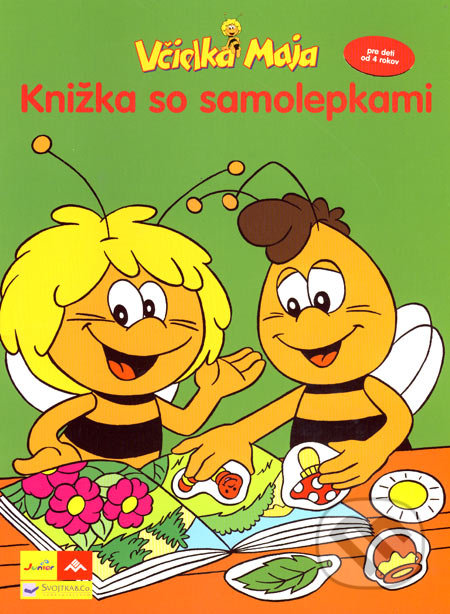 a47108a13 Kniha: Včielka Maja - Knižka so samolepkami (Svojtka&Co.) | Martinus