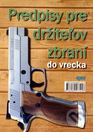 Fatimma.cz Predpisy pre držiteľov zbraní do vrecka Image