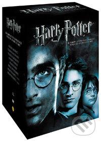 Harry Potter kolekce roky 1-7. 16 DVD DVD