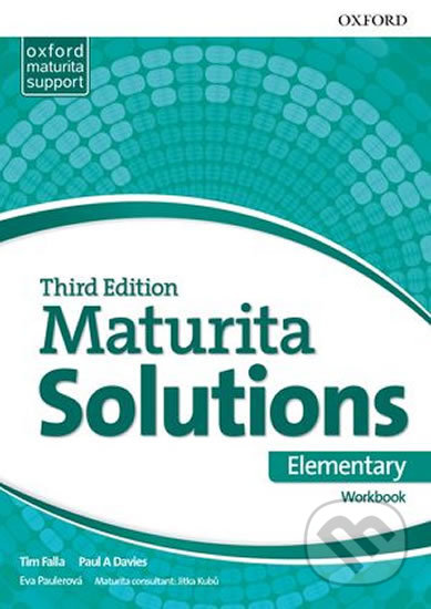 Maturita Solutions - Elementary - Workbook - Paul Davies, Tim Falla
