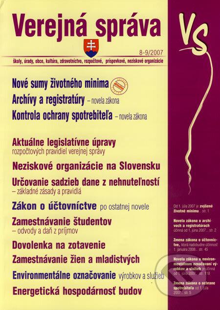 Fatimma.cz Verejná správa 8-9/2007 Image