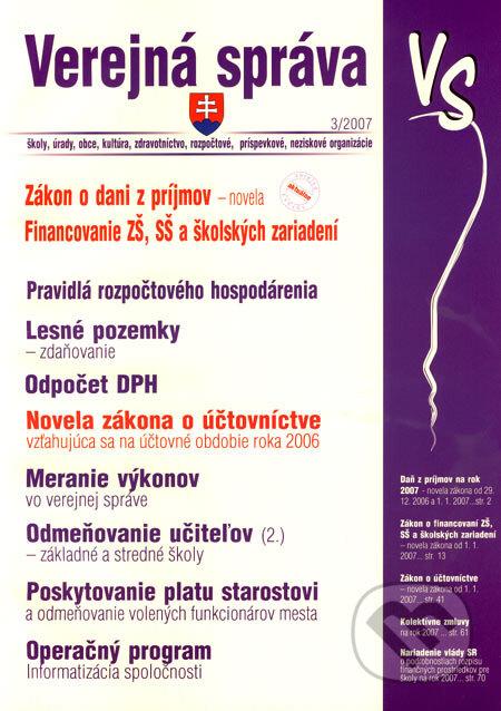 Fatimma.cz Verejná správa 3/2007 Image