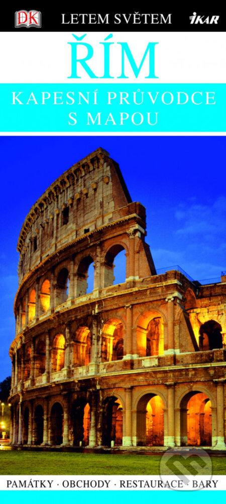 Venirsincontro.it Řím - kapesní průvodce s mapou Image