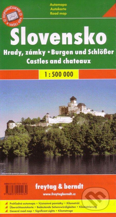 Newdawn.it Slovensko - Hrady, zámky 1:500 000 Image
