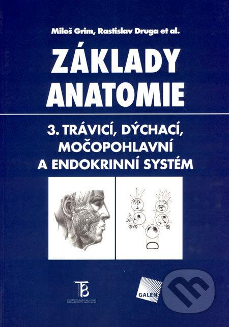 Základy anatomie 3 - Miloš Grim, Rastislav Druga