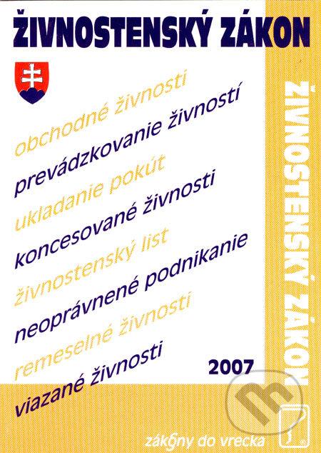 Fatimma.cz Živnostenský zákon 2007 Image