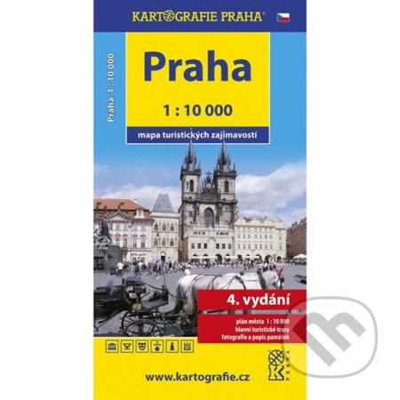 Newdawn.it Praha - mapa turistických zajímavostí 1:10 000 Image