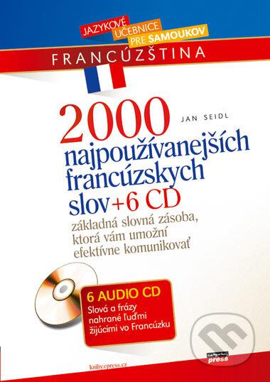 Interdrought2020.com 2000 najpoužívanejších francúzskych slov + 6 CD Image