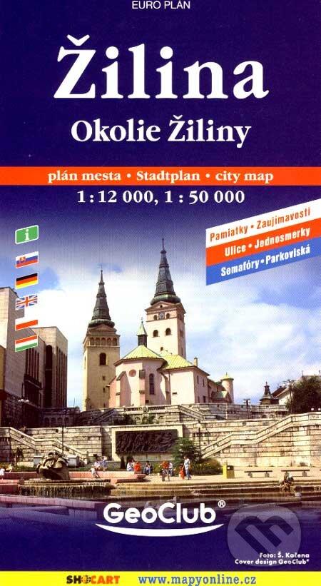 Excelsiorportofino.it Žilina, Okolie Žiliny 1:12 000, 1:50 000 Image