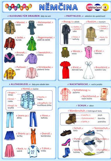 Interdrought2020.com Obrázková němčina: Oblečení Image