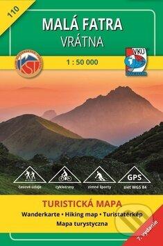Fatimma.cz Malá Fatra - Vrátna 1:50 000 - Turistická mapa č. 110 Image