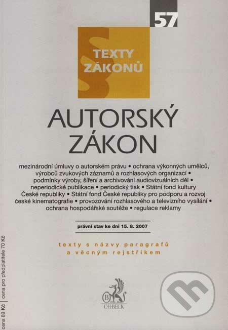Removu.cz Autorský zákon - texty zákonů Image