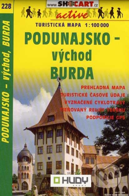 Fatimma.cz Podunajsko - východ, Burda 1:100 000 Image