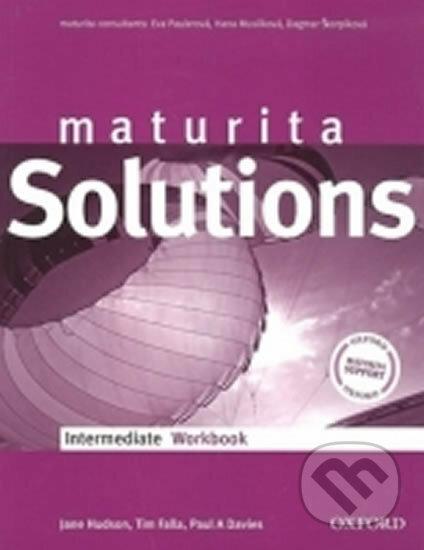 Maturita Solutions Intermediate - WorkBook - Paul Davies