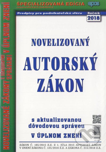 Fatimma.cz Novelizovaný Autorský zákon Image